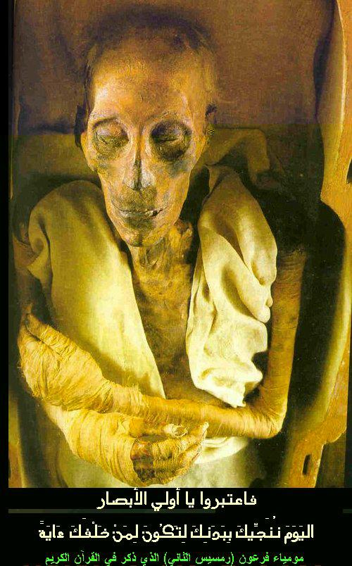 mumi firaun2 10 Mumi Terkenal Sepanjang Peradaban Dunia